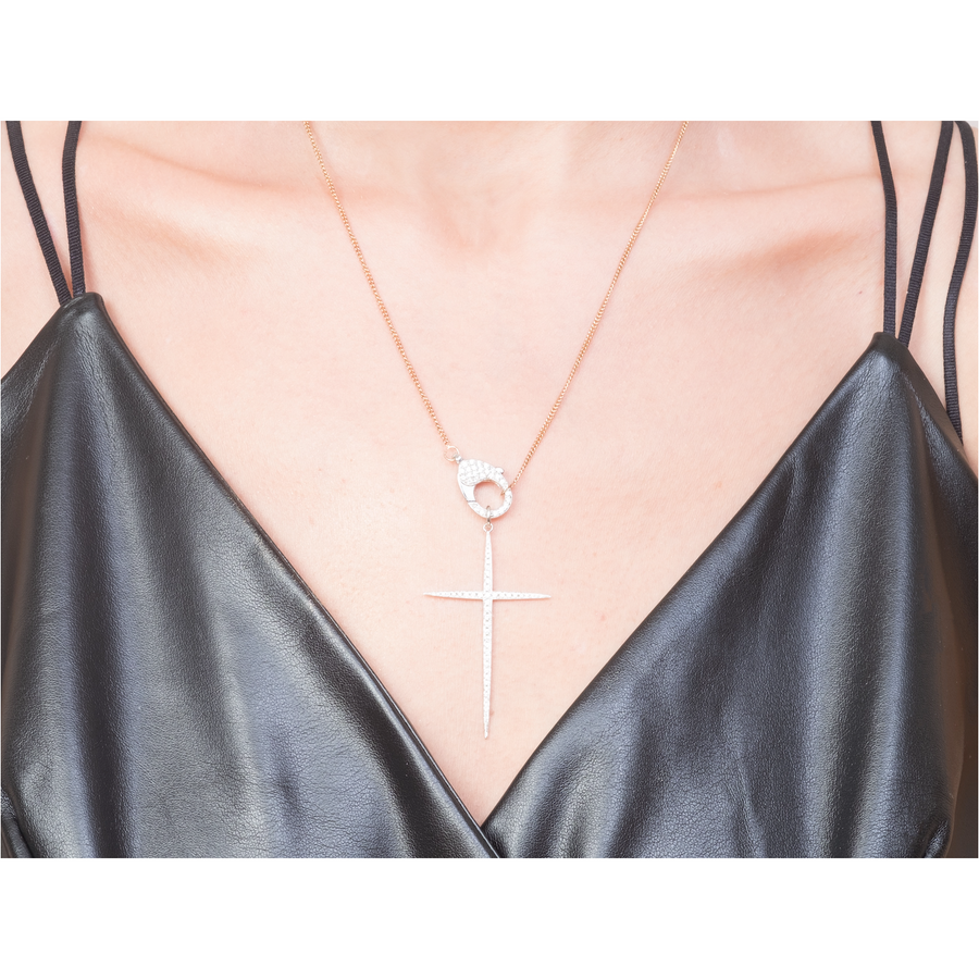 Large cross pendant