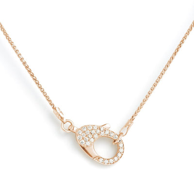 18 CT CLASP NECKLACE