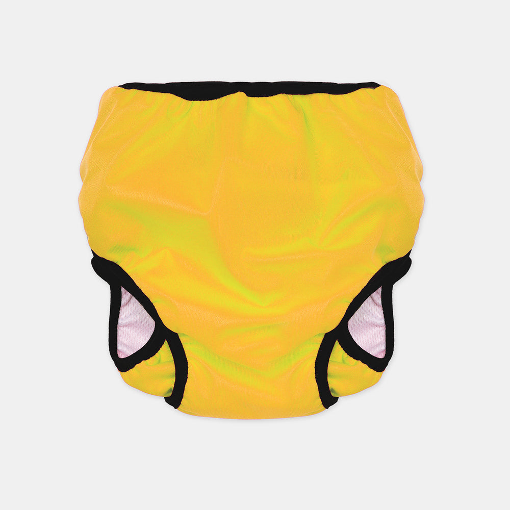 Baby & Toddler, Reusable Swim Nappy + Wet Bag - Yellow