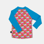 Long Sleeve Rash Guard - Rainbow Pony