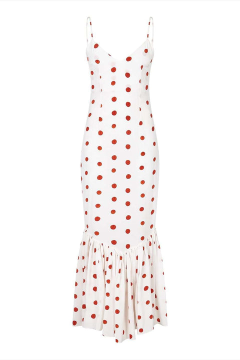 Capri Dress Polka Dot