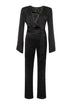 Keith Black Snake Jumpsuit