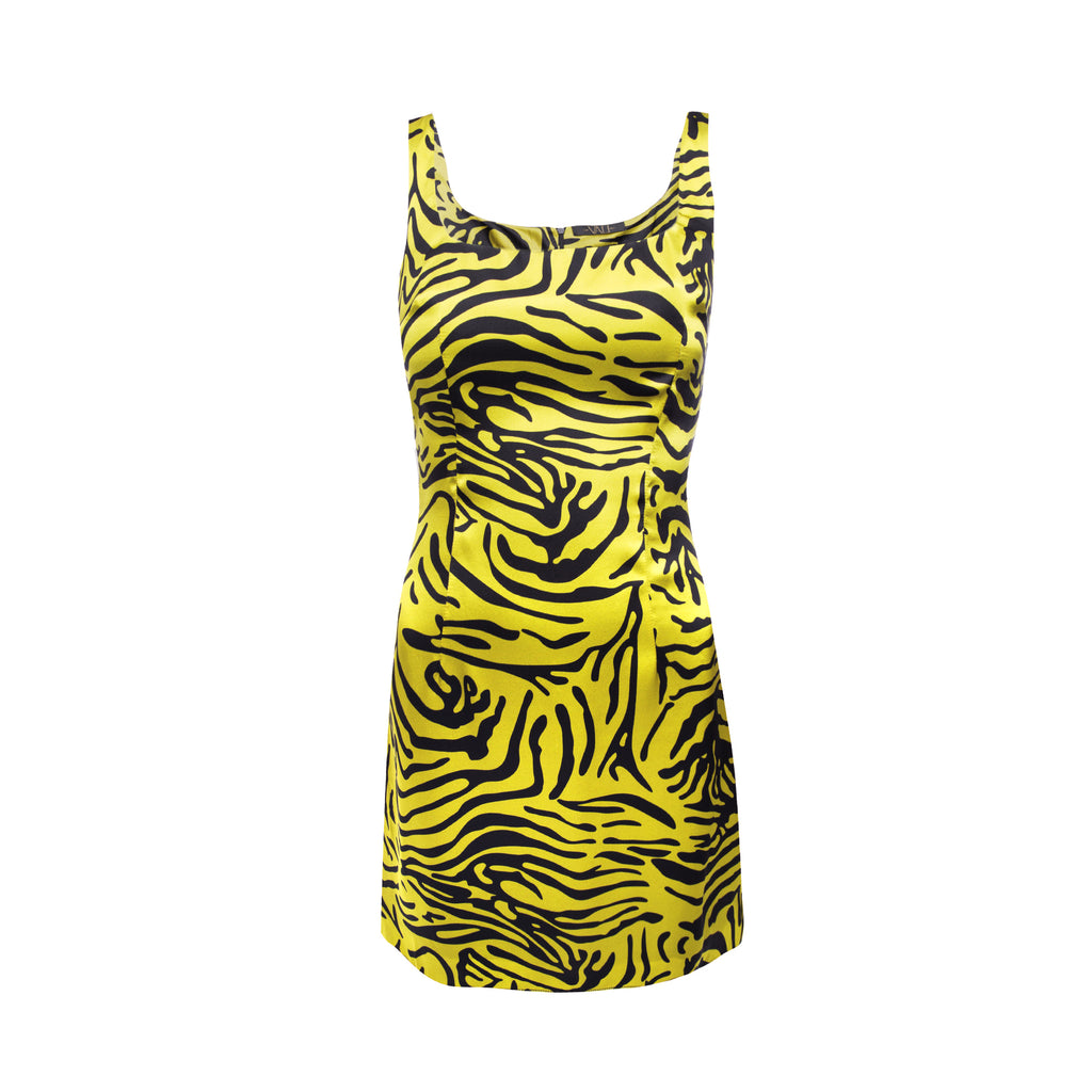 Limon Dress Tiger Silk Satin