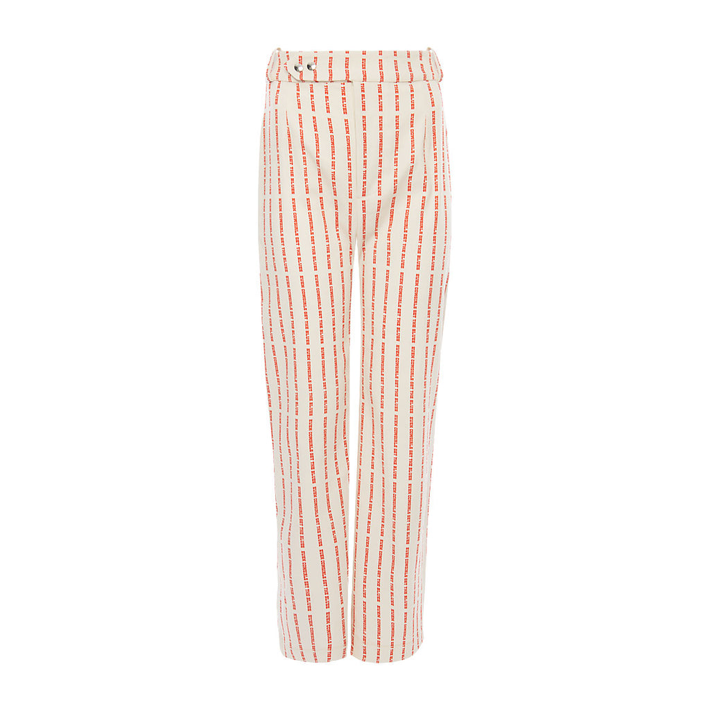 Louise Cowgirl Printed Cotton Trousers