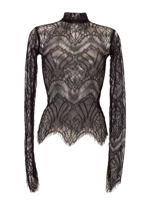 Lucille Top Sheer Lace