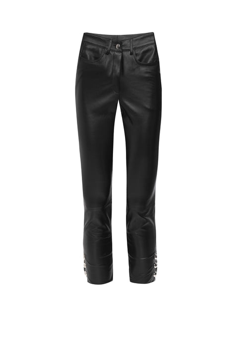 Otto Leather Trouser