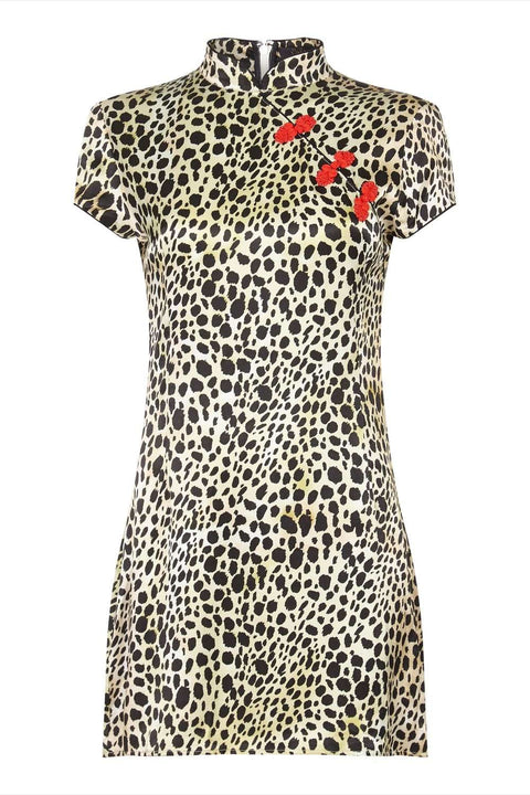 Suki Dress Leopard