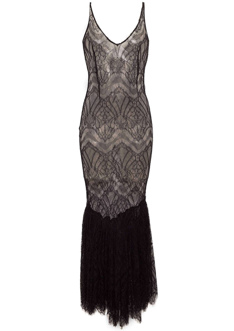 Sicily Dress Black lace