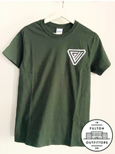GWA Tee- Green and White