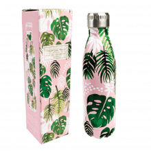 Metal Water Bottle- Tropical Palm