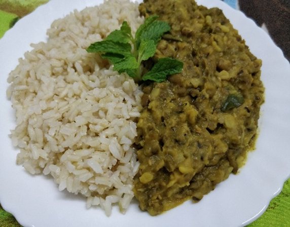 Pudina Moong Curry