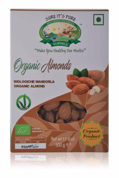 Organic Almonds (Imported)