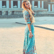 ALTEA Floral Maxi Dress-DRESSES-URBANYOO