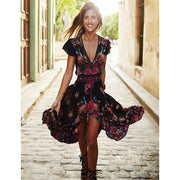 AMELIE Boho Dress-DRESSES-URBANYOO