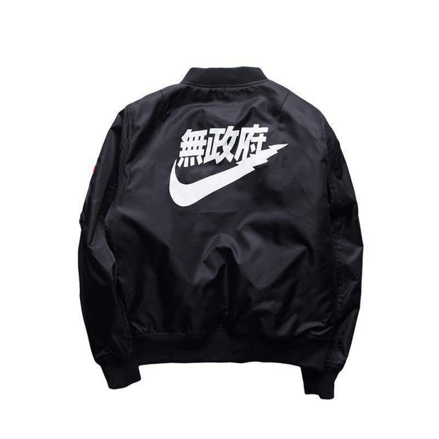 ANARCHY Bomber-JACKET-URBANYOO