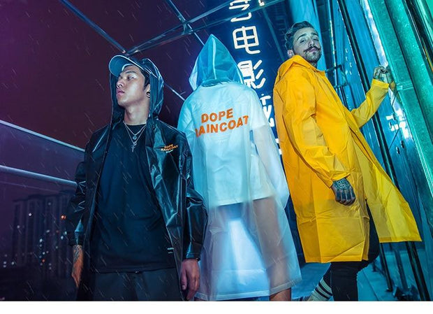 DOPE Waterproof Raincoat Jacket-Raincoat-URBANYOO
