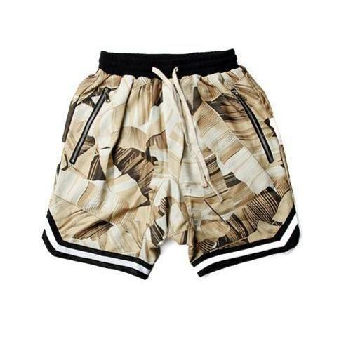 FLOWER Plaid Shorts-SHORT-URBANYOO