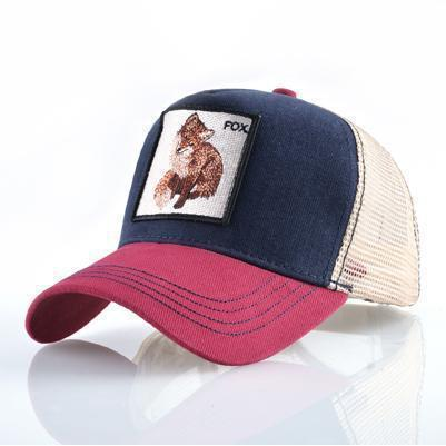 FOX Embroidery Cap-CAP-URBANYOO