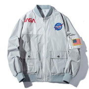 NASA Bomber Jacket-Jackets-URBANYOO
