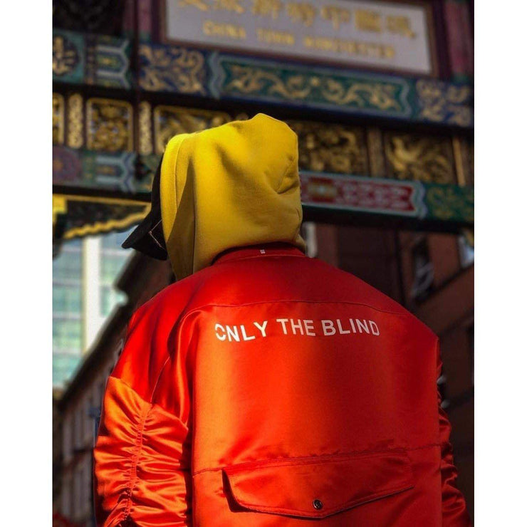 ONLY THE BLIND Bomber Jacket-JACKET-URBANYOO