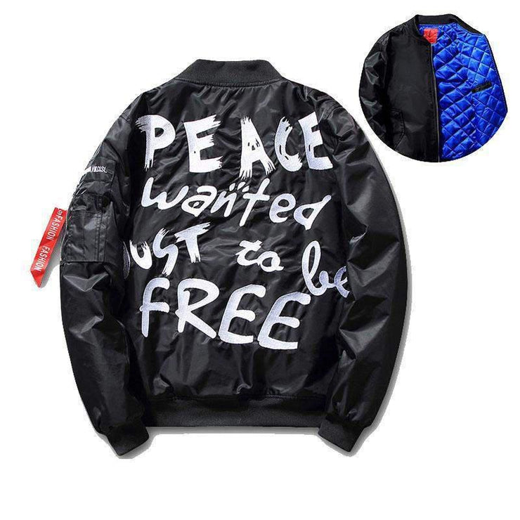 PEACE WANTED Jacket-JACKET-URBANYOO
