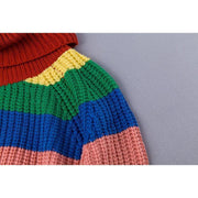RAINBOW Turtleneck Sweater-SWEATERS-URBANYOO