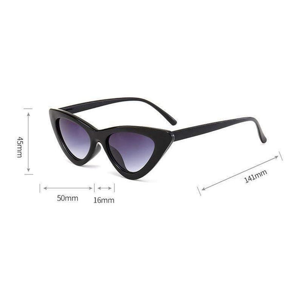 RETRO Cat Eye Sunglasses-SUNGLASSES-URBANYOO