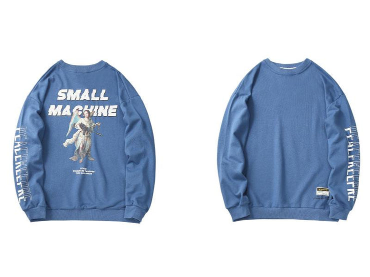 SMALL MACHINE Sweatshirt-SWEATSHIRT-URBANYOO