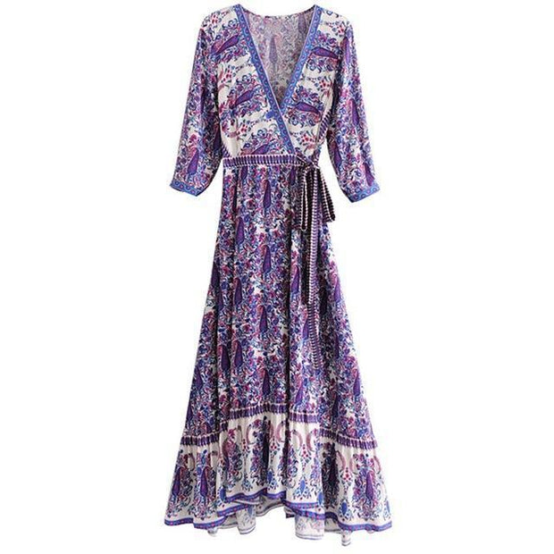 STELLA Vintage Maxi Dress-DRESSES-URBANYOO