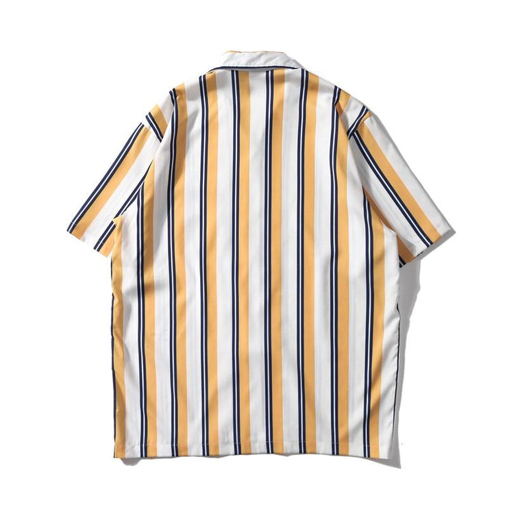 STRIPED Shirt-Shirt-URBANYOO