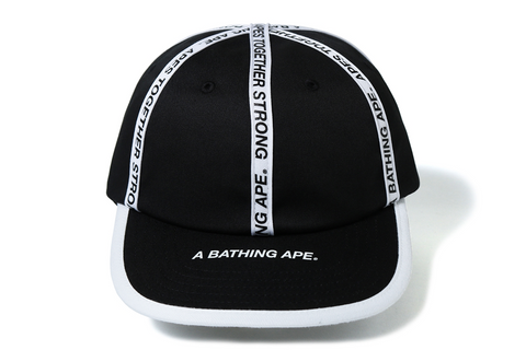 BAPE TAPE PANEL CAP
