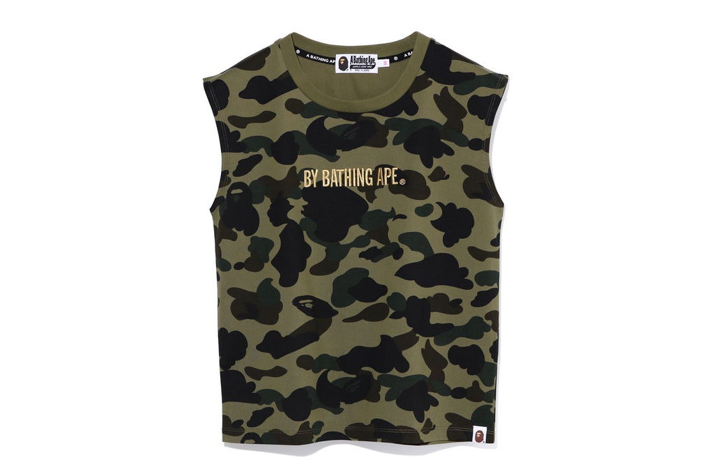 1ST CAMO SLEEVELESS TEE