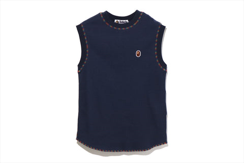 THERMAL SLEEVELESS TEE