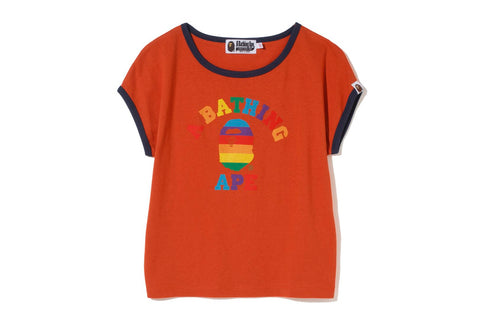 RAINBOW COLLEGE TRIM TEE