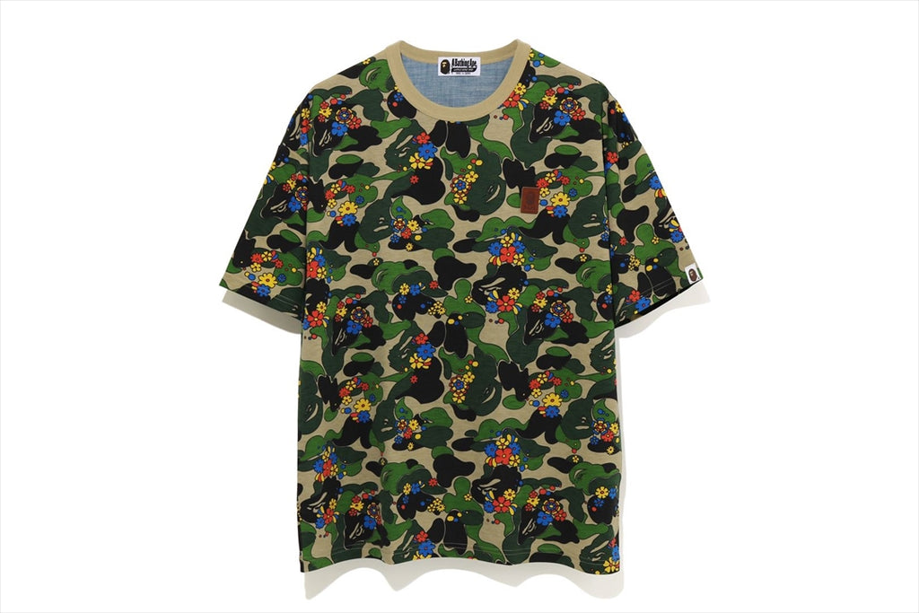 ABC CAMO FLOWER OVERSIZED TEE