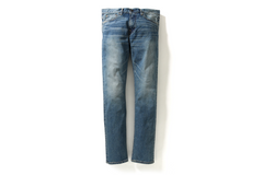 SLIM STRETCH DAMAGE DENIM PANTS