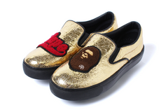 APE HEAD METALLIC SLIP ON