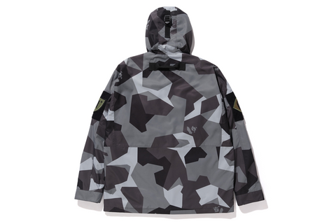 SPLINTER CAMO MILITARY JACKET