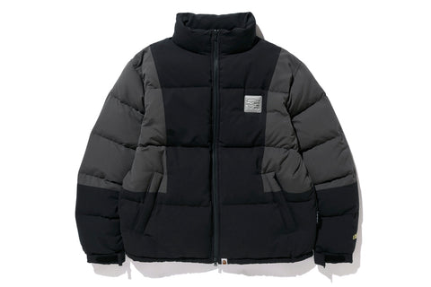 COLOR BLOCK DOWN JACKET