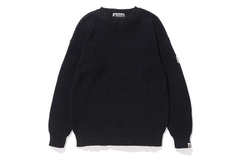 APE HEAD ONE POINT RIB KNIT