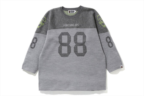 RELAXED FOOTBALL KNIT