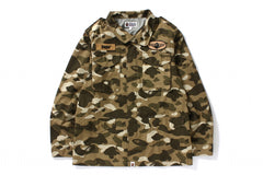 COLOR CAMO M-65 JACKET