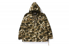 COLOR CAMO MIL WIDE PULLOVER JACKET