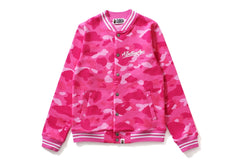 COLOR CAMO VARSITY JACKET
