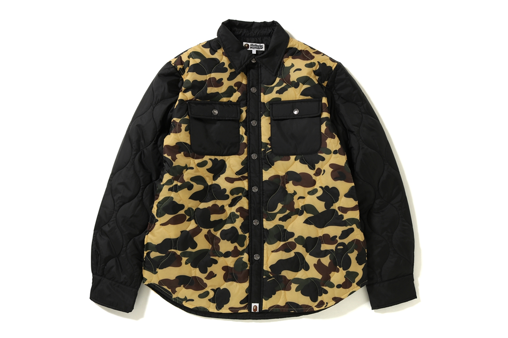 1ST CAMO QUILTING JACKET