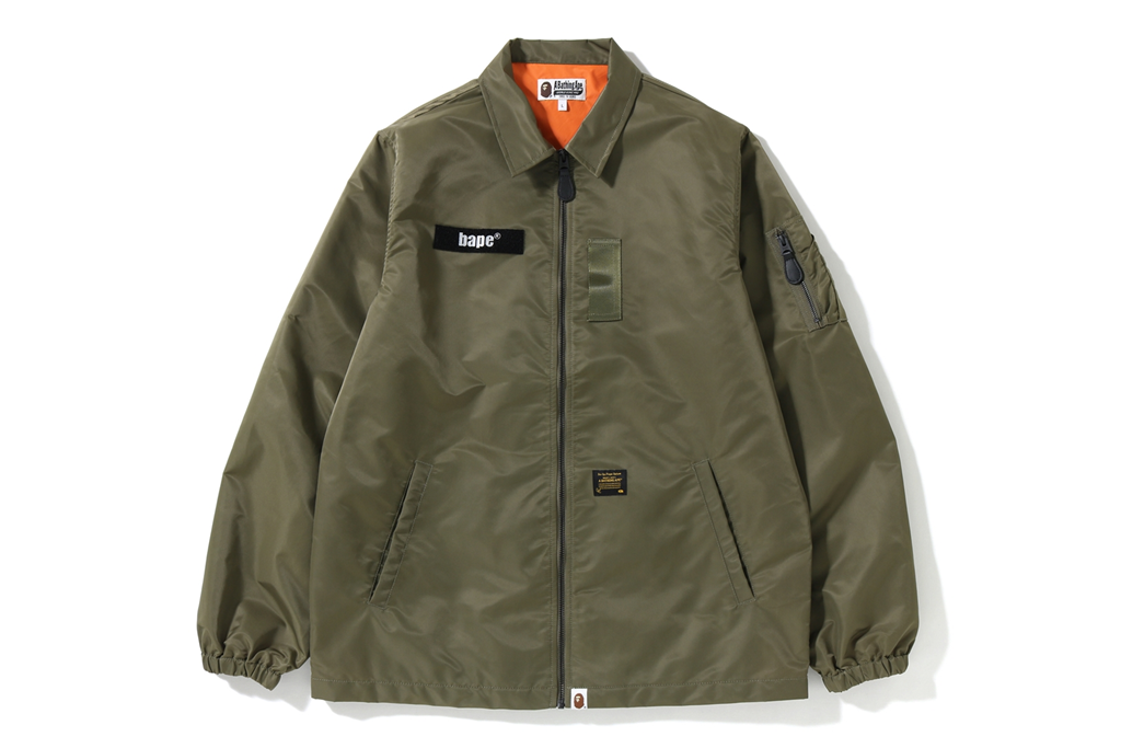 MA-1 DETAIL COACH JACKET