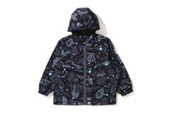 SPACE CAMO REVERSIBLE HOODIE JACKET