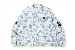 RELAXED SPACE CAMO COACH JACKET