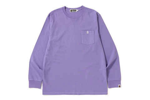 ONE POINT POCKET OVERDYE L/S TEE