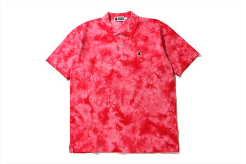 RELAXED TIE DYE POLO